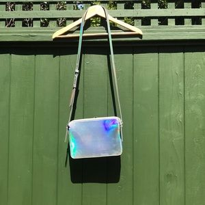 Iridescent purse